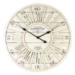 Shabby Chic Style Cut Out MDF Wooden Wall Clock 70cms